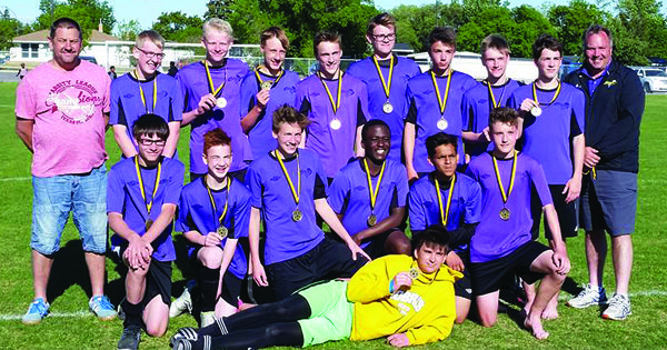 Kindersley U16 team earns soccer gold