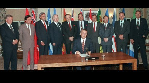 The Meech Lake Accord and the destruction of a political party