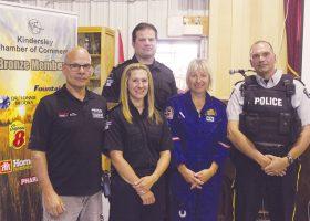 Local heroes: luncheon honours emergency workers