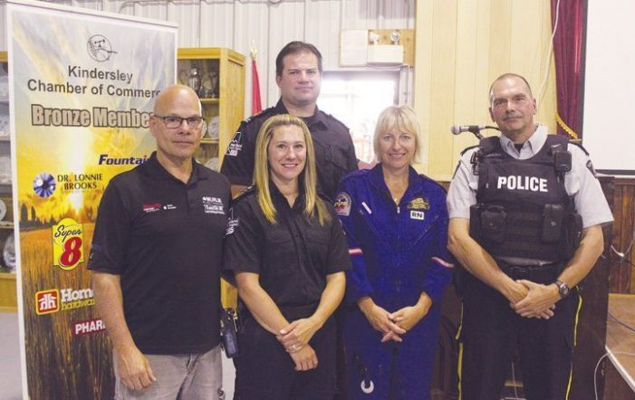 Local heroes: luncheon honours emergency workers