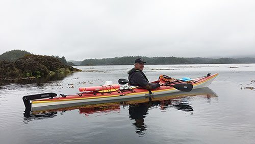 Paddling along B.C's outer edge