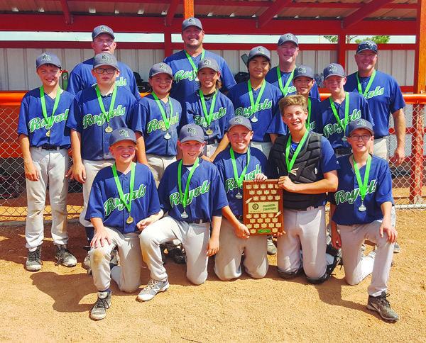 Peewee Royals win provincial championship