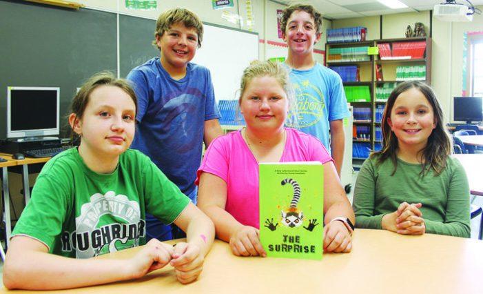 Elizabeth Middle School students get published