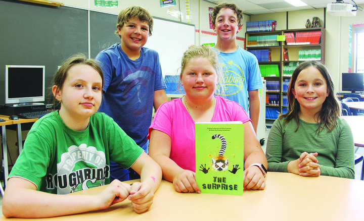 Elizabeth Middle School students get published