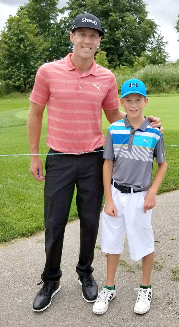 Local youth golfer tests skills at Glen Abbey