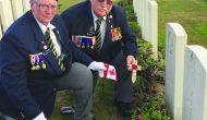 Members of local family join overseas Legion pilgrimage