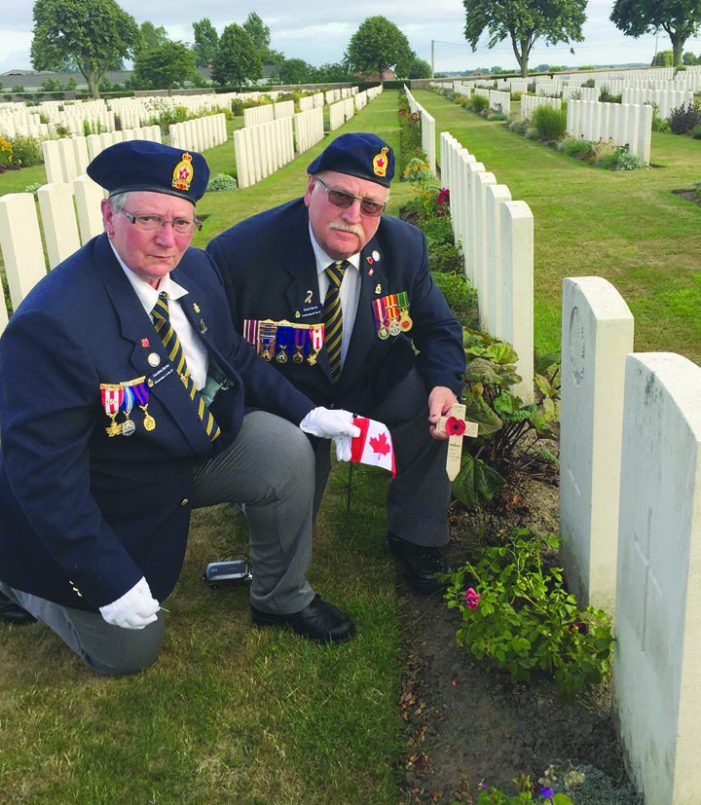 Members of local family join overseas Legion pilgrimage