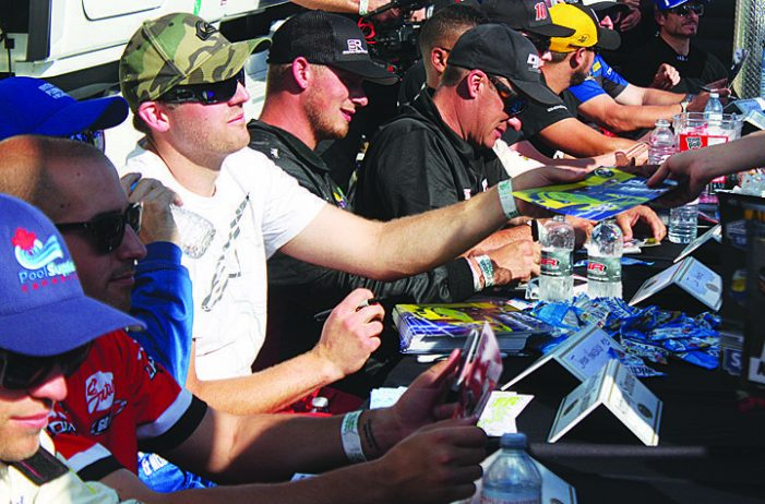 Local racer has ups and downs at NASCAR event