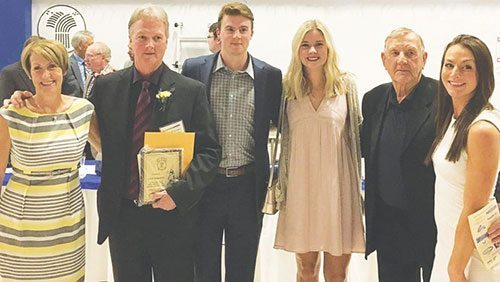 Jamie Flanagan enters Baseball Hall of Fame