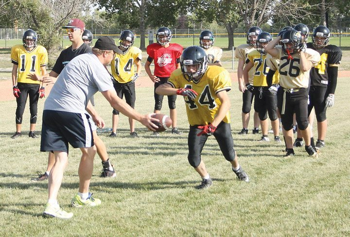 Kobras begin football training camp