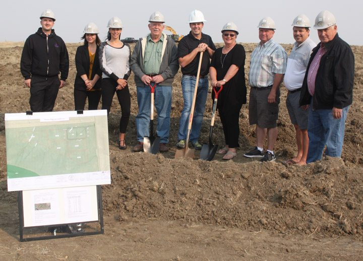 Sod turned at $3.75-million regional landfill project