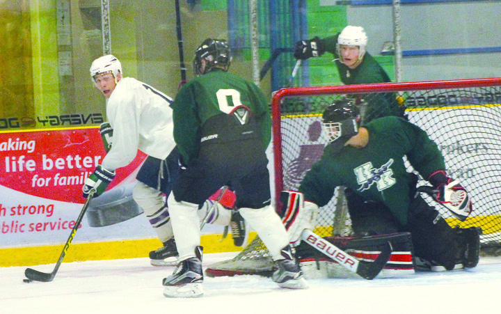 Players battle for spots on Klippers roster