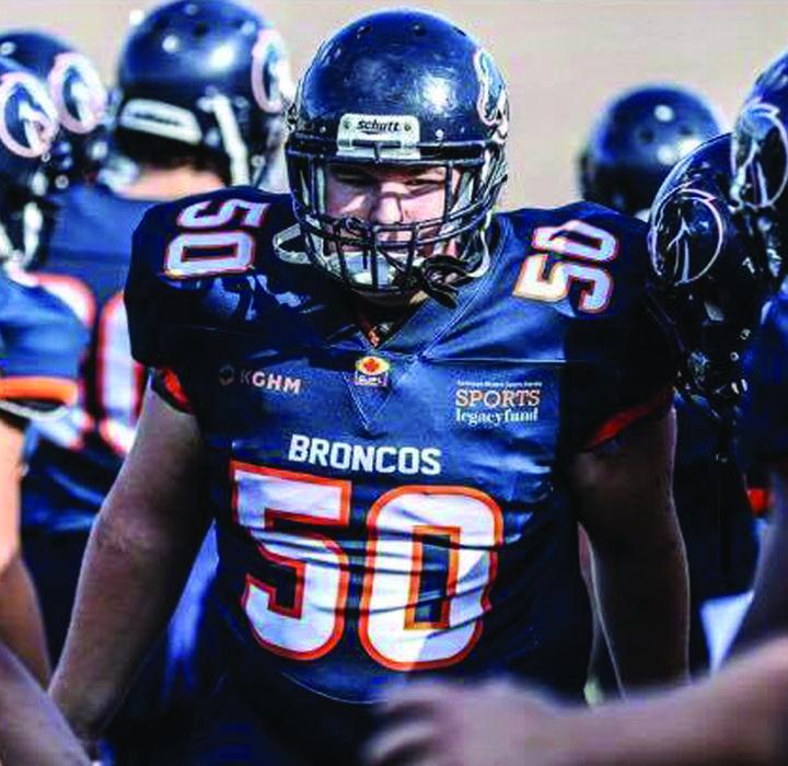 Kindersley trio  enjoy season with Kamloops Broncos