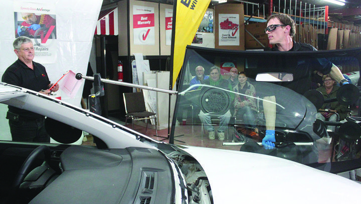 Local windshield technician competes at a high level