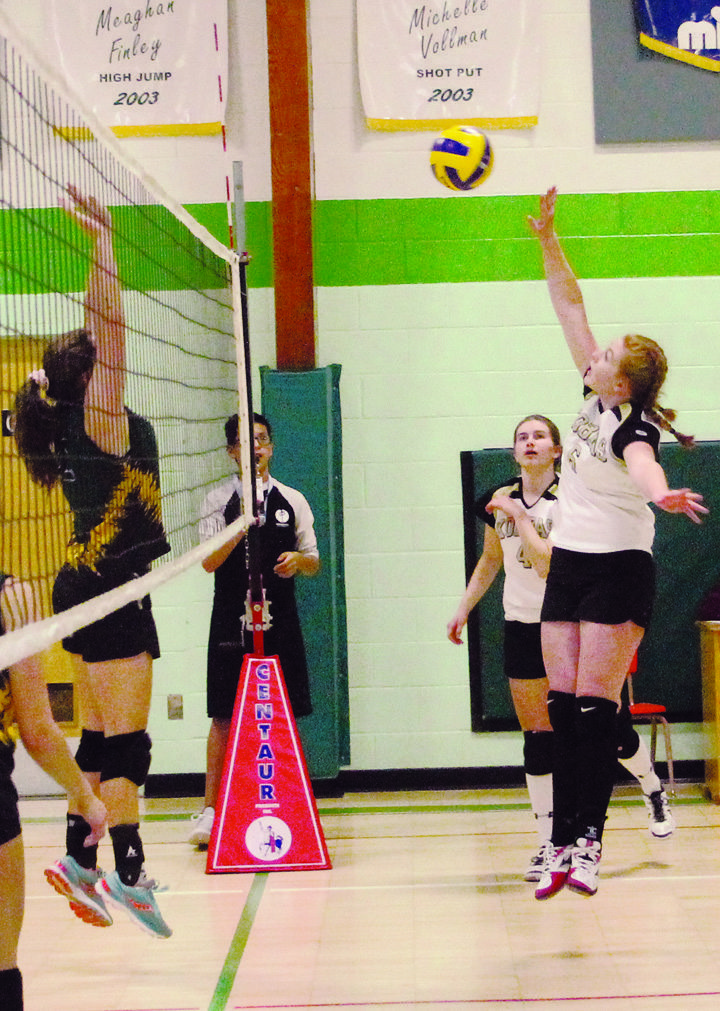 KCS volleyball teams compete hard