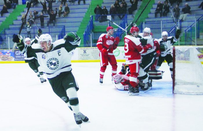 Klippers win back-to-back over Red Wings