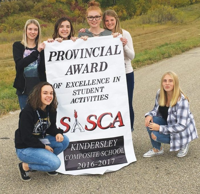 KCS student leaders earn provincial award