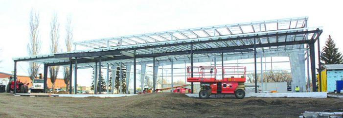 Aquatic centre project progressing swimmingly