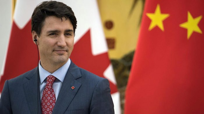 Justin Trudeau stands tall in China