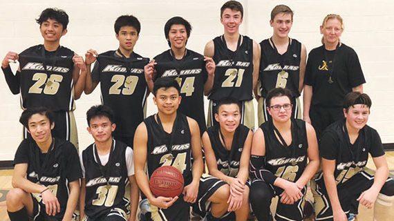 Kindersley junior basketball teams have been dominant