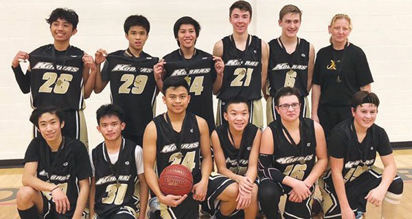 Kindersley junior basketball teams have been dominant
