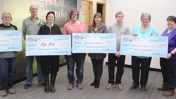 Local woman donates to charities via contest