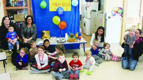 Child care centre celebrates five years