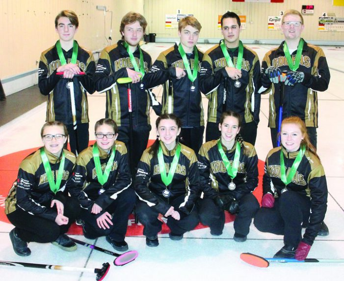 KCS boys and girls win curling titles