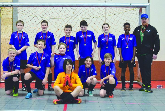 Kindersley U13 Storm team dials up gold medal