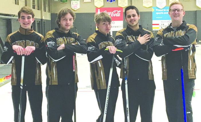 KCS senior boys curling team finishes 1-2 at provincials