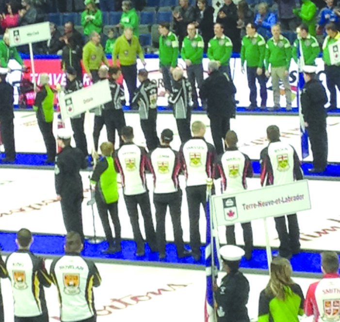 Locals part of Brier opening Saturday