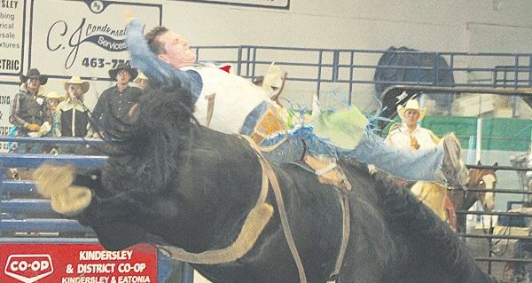 Plenty of horsepower at Kindersley Indoor Rodeo