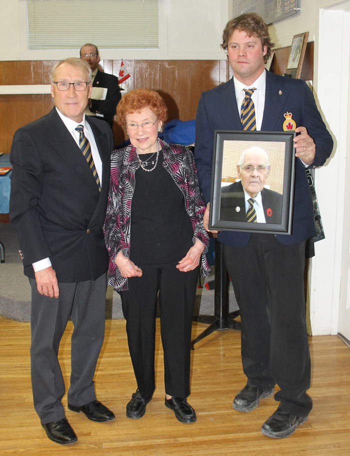 Legion branch pays tribute