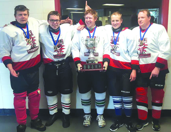 Local sledge players golden at Westerns