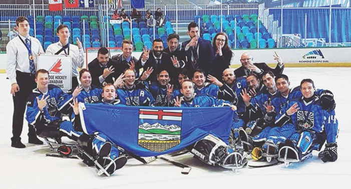 Braden Close and Team Alberta make it a three-peat