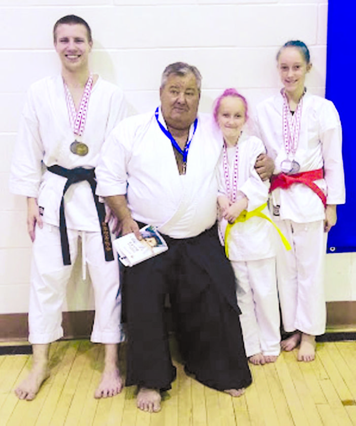 Karate students win big at national event