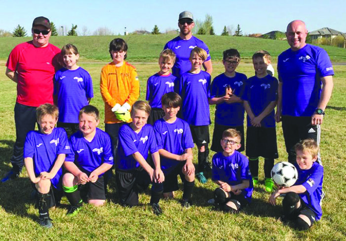 Kindersley Storm U11 team earns silver at tournament