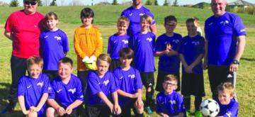 Kindersley Storm U11 team earns silver at tournament