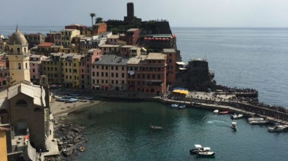 A town-to-town hike along the Ligurian Sea