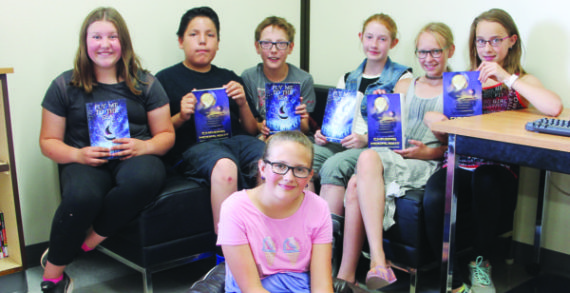 Elizabeth students' work included in books