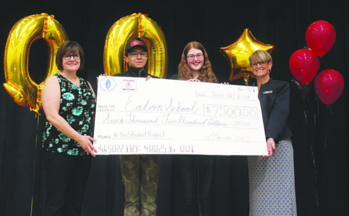 Video contest earns Eaton School $7,500