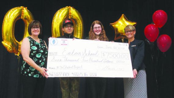 Video contest earns Eaton School $7,500