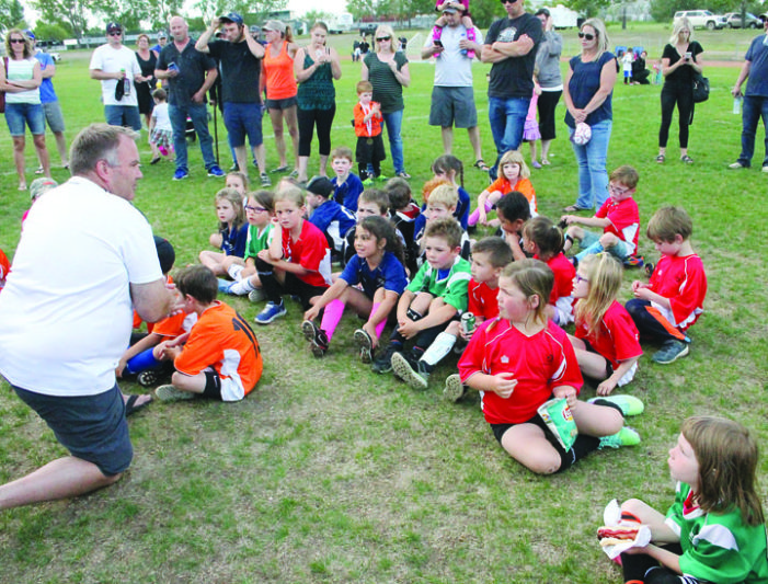 Minor soccer celebrates successful season