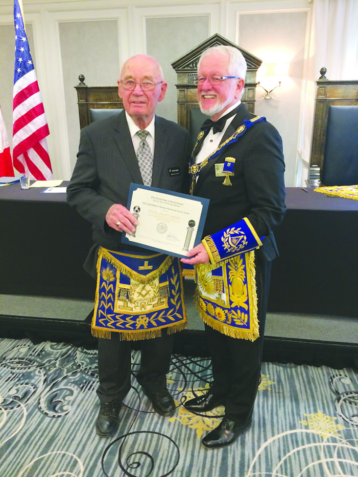 Kindersley Mason receives special recognition