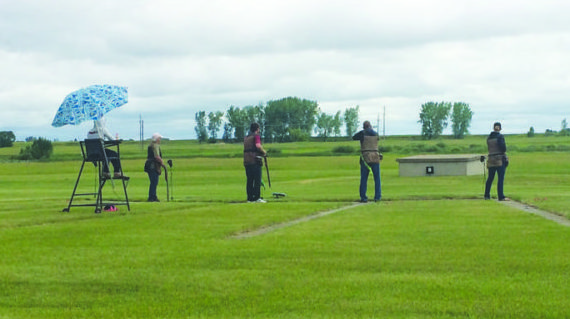 Locals compete in trapshooting championships