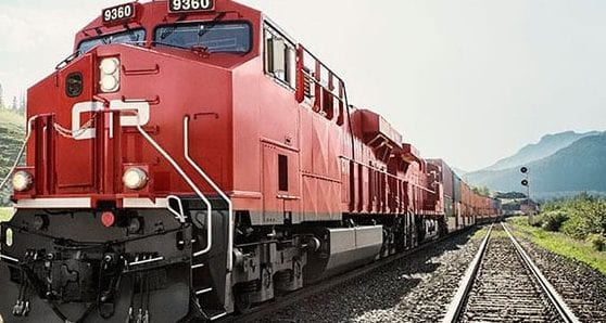 Canadian Pacific Railway enjoys record four-quarter