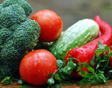 Getting your veggie fix, from home and abroad