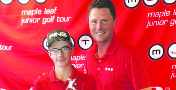 Local golfer keeps playing at high level
