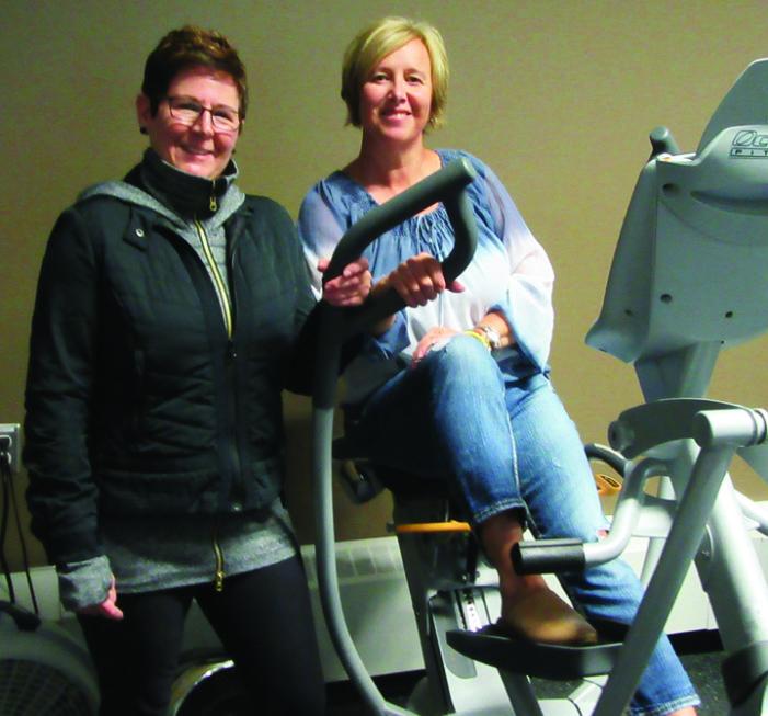 Wellness Room volunteers: We just do it!