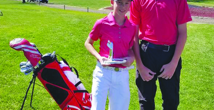 Cote brothers do well on the links
